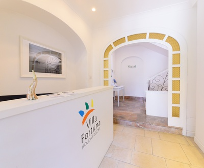 Reception   Villa Fortuna Holiday Resort