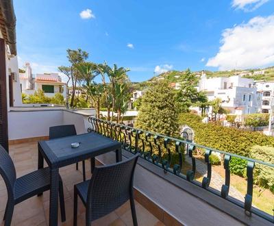 Terrace   Villa Fortuna Holiday Resort
